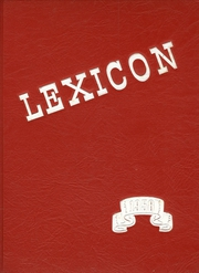 1958 Edition, Lexington High School - Lexicon Yearbook (Lexington, NC)