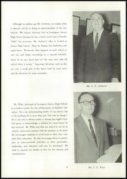 Page 10, 1958 Edition, Lexington High School - Lexicon Yearbook (Lexington, NC) online yearbook collection