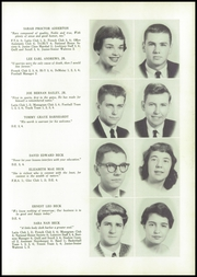 Page 13, 1958 Edition, Lexington High School - Lexicon Yearbook (Lexington, NC) online yearbook collection