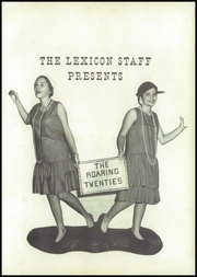 Page 5, 1958 Edition, Lexington High School - Lexicon Yearbook (Lexington, NC) online yearbook collection