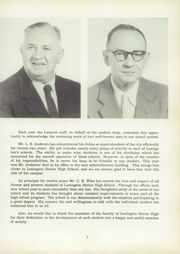 Page 11, 1959 Edition, Lexington High School - Lexicon Yearbook (Lexington, NC) online yearbook collection