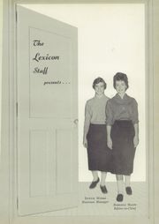Page 5, 1959 Edition, Lexington High School - Lexicon Yearbook (Lexington, NC) online yearbook collection