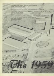 Page 6, 1959 Edition, Lexington High School - Lexicon Yearbook (Lexington, NC) online yearbook collection