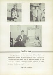 Page 9, 1959 Edition, Lexington High School - Lexicon Yearbook (Lexington, NC) online yearbook collection