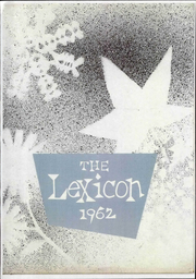 1962 Edition, Lexington High School - Lexicon Yearbook (Lexington, NC)