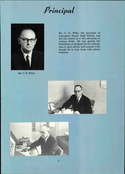Page 13, 1962 Edition, Lexington High School - Lexicon Yearbook (Lexington, NC) online yearbook collection
