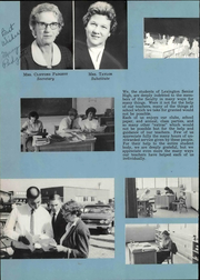 Page 16, 1962 Edition, Lexington High School - Lexicon Yearbook (Lexington, NC) online yearbook collection