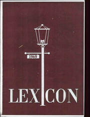 1969 Edition, Lexington High School - Lexicon Yearbook (Lexington, NC)