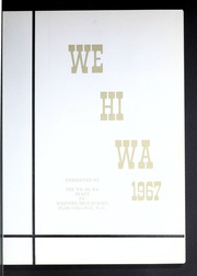 Page 5, 1967 Edition, Western Alamance High School - We Hi Wa Yearbook (Elon, NC) online yearbook collection