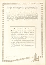 Page 16, 1923 Edition, Greensboro College - Echo Yearbook (Greensboro, NC) online yearbook collection