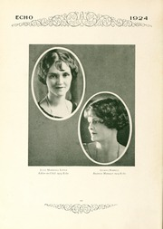 Page 14, 1924 Edition, Greensboro College - Echo Yearbook (Greensboro, NC) online yearbook collection