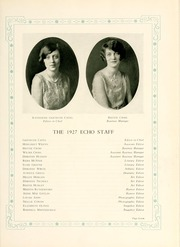 Page 9, 1927 Edition, Greensboro College - Echo Yearbook (Greensboro, NC) online yearbook collection