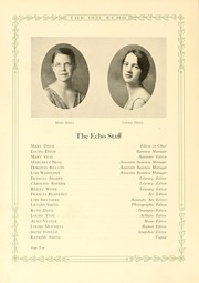 Page 16, 1931 Edition, Greensboro College - Echo Yearbook (Greensboro, NC) online yearbook collection