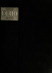 Page 1, 1933 Edition, Greensboro College - Echo Yearbook (Greensboro, NC) online yearbook collection