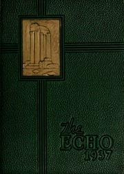 Page 1, 1937 Edition, Greensboro College - Echo Yearbook (Greensboro, NC) online yearbook collection