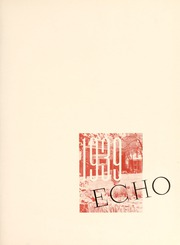 Page 7, 1939 Edition, Greensboro College - Echo Yearbook (Greensboro, NC) online yearbook collection
