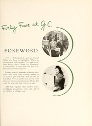 Page 9, 1945 Edition, Greensboro College - Echo Yearbook (Greensboro, NC) online yearbook collection