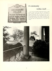 Page 12, 1968 Edition, Greensboro College - Echo Yearbook (Greensboro, NC) online yearbook collection