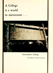 Page 5, 1968 Edition, Greensboro College - Echo Yearbook (Greensboro, NC) online yearbook collection