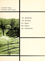Page 7, 1968 Edition, Greensboro College - Echo Yearbook (Greensboro, NC) online yearbook collection