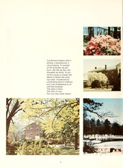 Page 8, 1969 Edition, Greensboro College - Echo Yearbook (Greensboro, NC) online yearbook collection