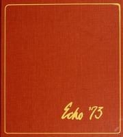 1973 Edition, Greensboro College - Echo Yearbook (Greensboro, NC)