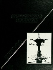 1986 Edition, Greensboro College - Echo Yearbook (Greensboro, NC)