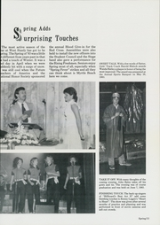 Page 17, 1984 Edition, West Stanly High School - Pegasus Yearbook (Oakboro, NC) online yearbook collection