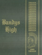 1985 Edition, Bandys High School - Trojan Yearbook (Catawba, NC)