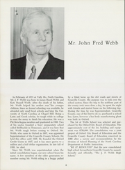 Page 10, 1964 Edition, J F Webb High School - Wildcat Yearbook (Oxford, NC) online yearbook collection