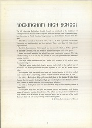 Page 12, 1946 Edition, Rockingham High School - Rocket Yearbook (Rockingham, NC) online yearbook collection
