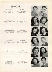 Page 15, 1946 Edition, Rockingham High School - Rocket Yearbook (Rockingham, NC) online yearbook collection