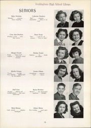 Page 17, 1946 Edition, Rockingham High School - Rocket Yearbook (Rockingham, NC) online yearbook collection