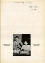 Page 5, 1946 Edition, Rockingham High School - Rocket Yearbook (Rockingham, NC) online yearbook collection