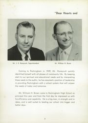 Page 12, 1956 Edition, Rockingham High School - Rocket Yearbook (Rockingham, NC) online yearbook collection