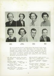 Page 14, 1956 Edition, Rockingham High School - Rocket Yearbook (Rockingham, NC) online yearbook collection