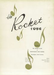 Page 5, 1956 Edition, Rockingham High School - Rocket Yearbook (Rockingham, NC) online yearbook collection