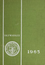 1965 Edition, Williamston High School - Skewarkee Yearbook (Williamston, NC)