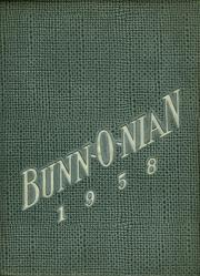 Page 1, 1958 Edition, Bunn High School - Bunnonian Yearbook (Bunn, NC) online yearbook collection