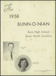 Page 5, 1958 Edition, Bunn High School - Bunnonian Yearbook (Bunn, NC) online yearbook collection