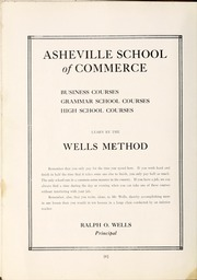 Page 8, 1922 Edition, Lee Edwards High School - Hillbilly Yearbook (Asheville, NC) online yearbook collection