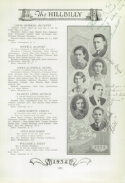 Page 15, 1932 Edition, Lee Edwards High School - Hillbilly Yearbook (Asheville, NC) online yearbook collection