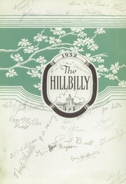 Page 5, 1932 Edition, Lee Edwards High School - Hillbilly Yearbook (Asheville, NC) online yearbook collection