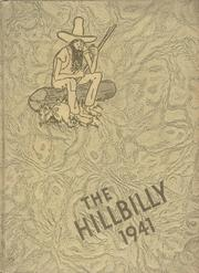 1941 Edition, Lee Edwards High School - Hillbilly Yearbook (Asheville, NC)