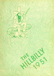 1951 Edition, Lee Edwards High School - Hillbilly Yearbook (Asheville, NC)