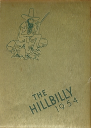 1954 Edition, Lee Edwards High School - Hillbilly Yearbook (Asheville, NC)