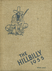 1955 Edition, Lee Edwards High School - Hillbilly Yearbook (Asheville, NC)