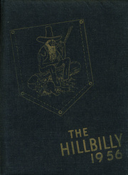 1956 Edition, Lee Edwards High School - Hillbilly Yearbook (Asheville, NC)