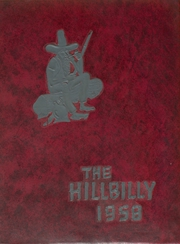 1958 Edition, Lee Edwards High School - Hillbilly Yearbook (Asheville, NC)