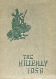 1959 Edition, Lee Edwards High School - Hillbilly Yearbook (Asheville, NC)